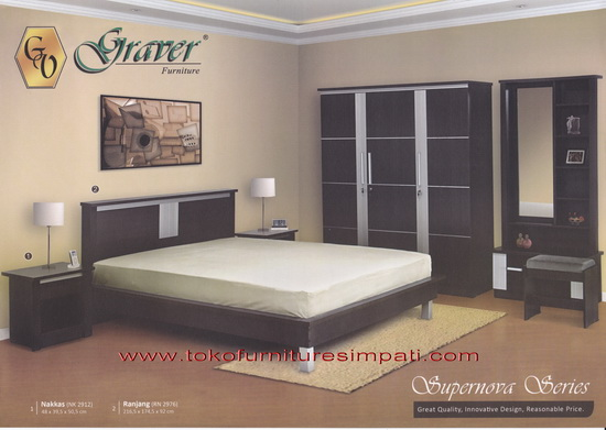 kamar set supernova murah, bedorom set supernova