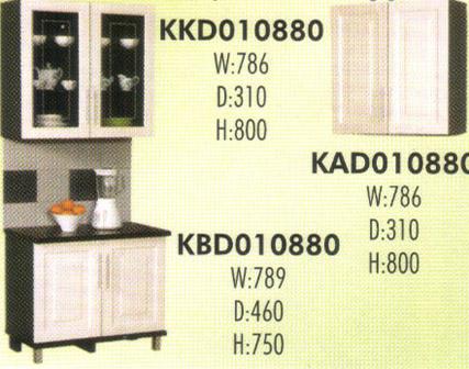 Kitchen Set Murah Lemari Dapur Gantung Olympic Kirana Suctira